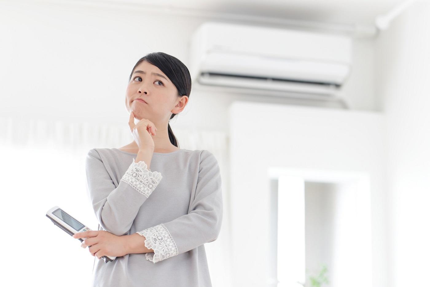 冷房 ない エアコン 効か